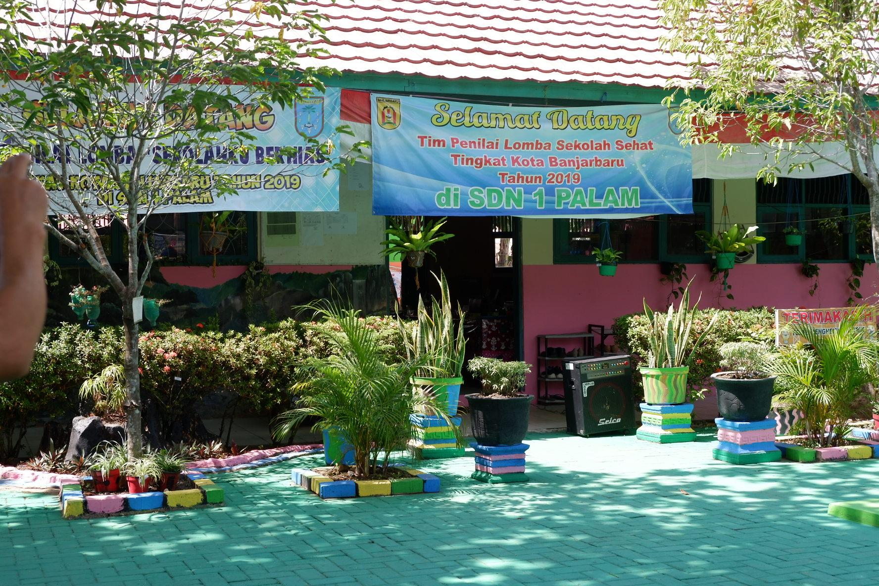 Kegiatan Lomba Sekolah Sehat Tingkat Kota Banjarbaru Tahun 2019